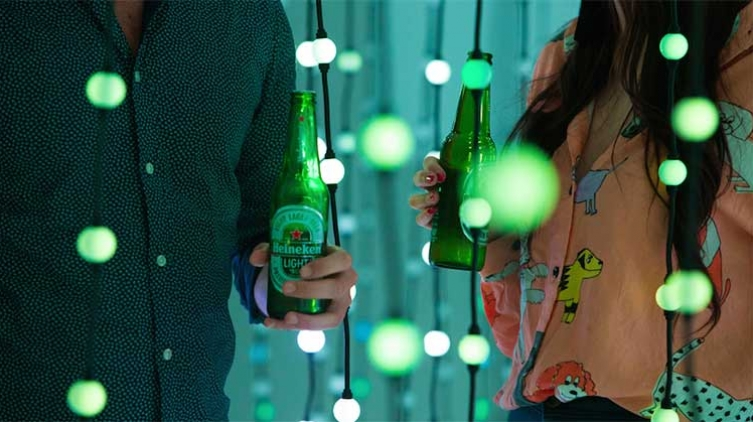 Heineken Light header